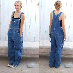 Vintage 90s Calvin Klein overalls large